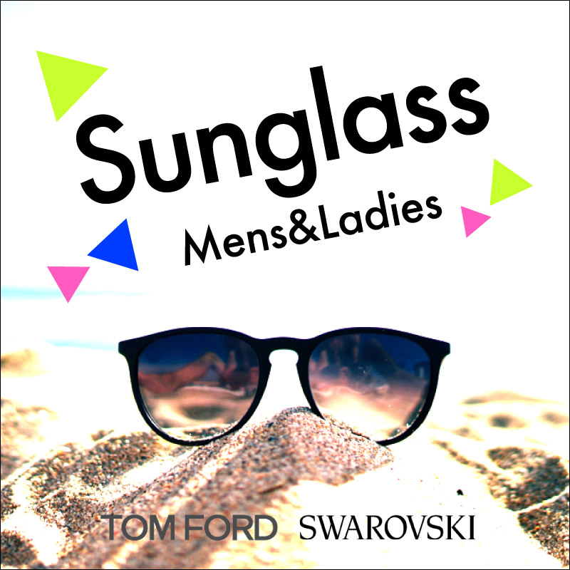 サングラス TOM FORD、SWAROVSKI